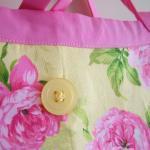 SALE - Handmade Pink Summer Floral ..